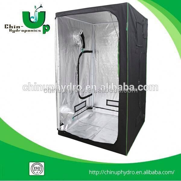 hydroponics tent/grow box greenhouse/ grow tent material 600d/ greenhouse mylar indoor mini grow tent