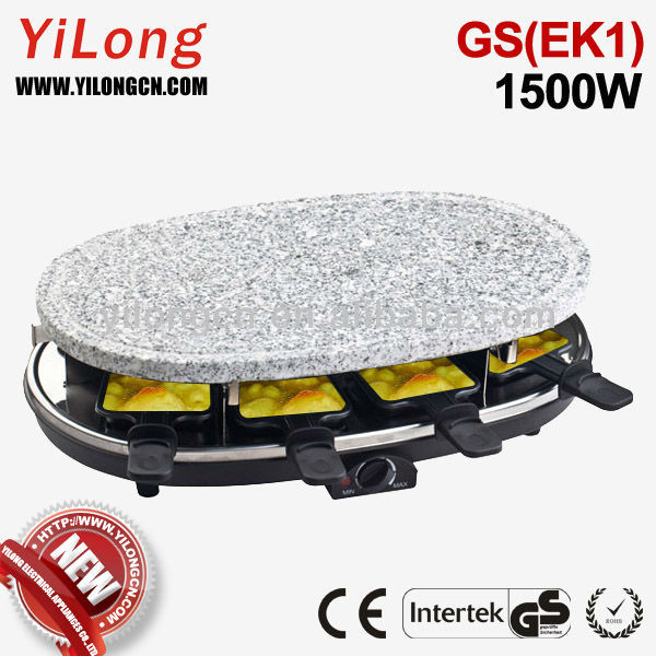8-person table top electric grill with CE(A13)/GS(EK1) approval