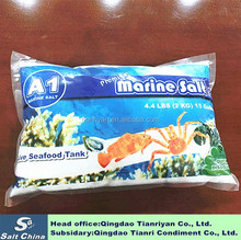 Refined cyanide edible food grade aquarium accessories reef sea salt