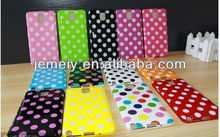 Multicolor Polka Dots tpu case back cover for Samsung Galaxy Note3 III N9000