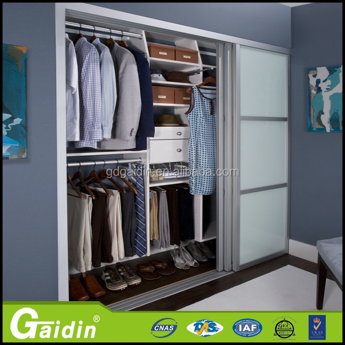 Highest performance and inexpensive aluminum high quality triple sliding closet door