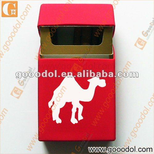 silicone cigarette case with CAMEL print