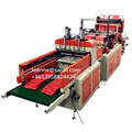 Automatic shopping plastic bag making machine