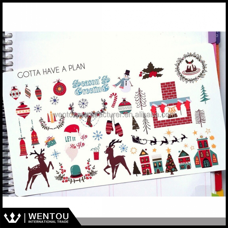 Christmas Scrapbooking Christmas Variety Planner Stickers