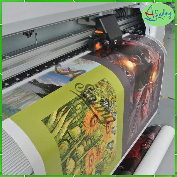 canvas Material and Inkjet Printing Use Stretched Canvas