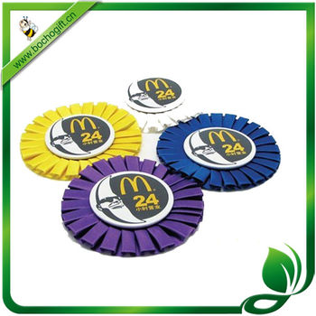 stain rosette with logo