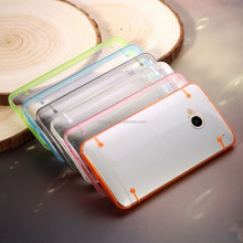 New hybrid transparent TPU Gel skin case cover for HTC One M7
