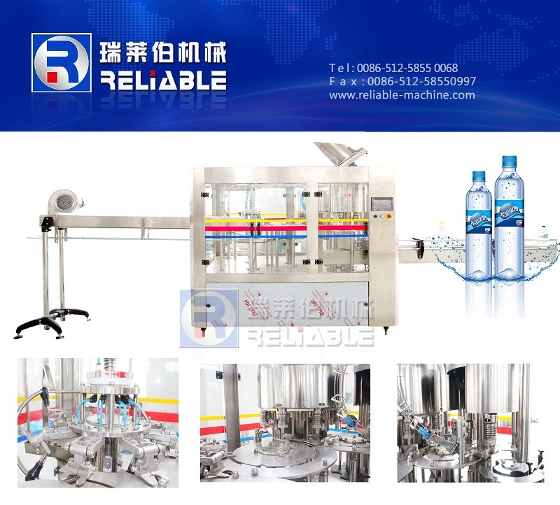 Low Cost Small Automatic Water Bottling Machine ( Mineral Water Or Pure Water )