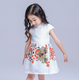 2016 Chinese style short sleeve princess dress,chinese knot party wear dress for baby girls