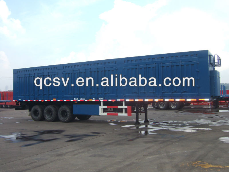 40ft tri-axle coal carrying semi-trailer