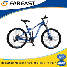 Most popular forever dual suspension 26 aluminum alloy frame mountain bike bicycle