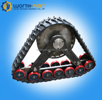 rubber track conversion system kit for tractor/truck /snowmobile