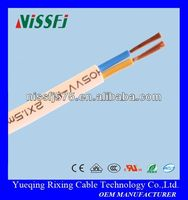 PVC insulated & sheathed multi-core flexible round CCA stranded power plug cord cable 10mm 18AWG wire