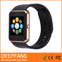 2016 Update High Quality 6261a Cpu Bluetooth Smart Watch Gt08 With Fm Radio Video Player For Android Smartwatch Mobile Phone