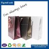 Hot sale biodegradable flat stand up paper shopping bag with logo printed