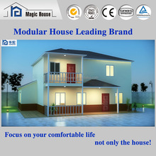 Prefabricated light steel structure residential villas