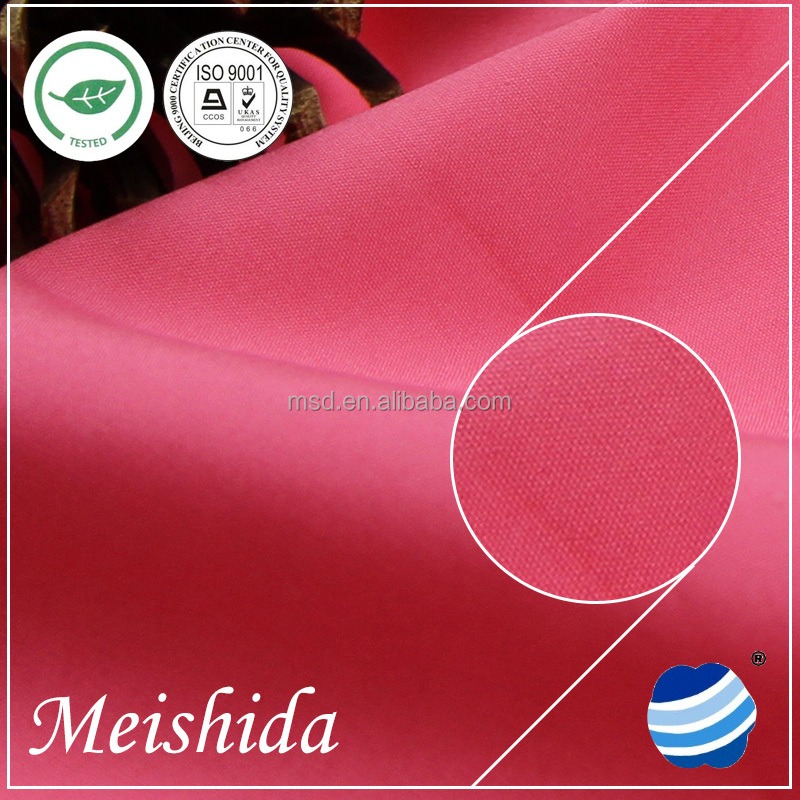 high quality low price waxed poly cotton canvas fabric
