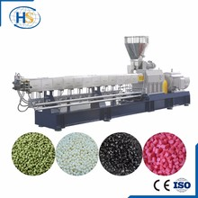 Carbon Nylon Pellets Making Machine/Twin Screw Extruder Waste Plastic Recycling Plant for Sale