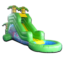 PK Durabel Inflatable Products Water Slides Pools Inflatable For Amusement Park