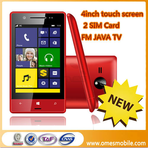 Hot selling 8XT 4 inch touch screen WIFI TV yxtel mobile china phone games