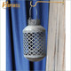 Wholesale retro iron hobby lobby hanging silver cemetery candle lantern