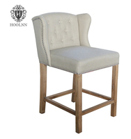 Antique Elegant Wooden Bar Chair S2011-F55