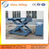 Stationary hydraulic car lifting platform car scissor lift
