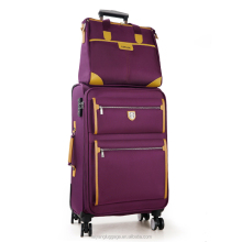 Best quality soft durable oxford fabric trolley luggage eminent travel luggage suitcase