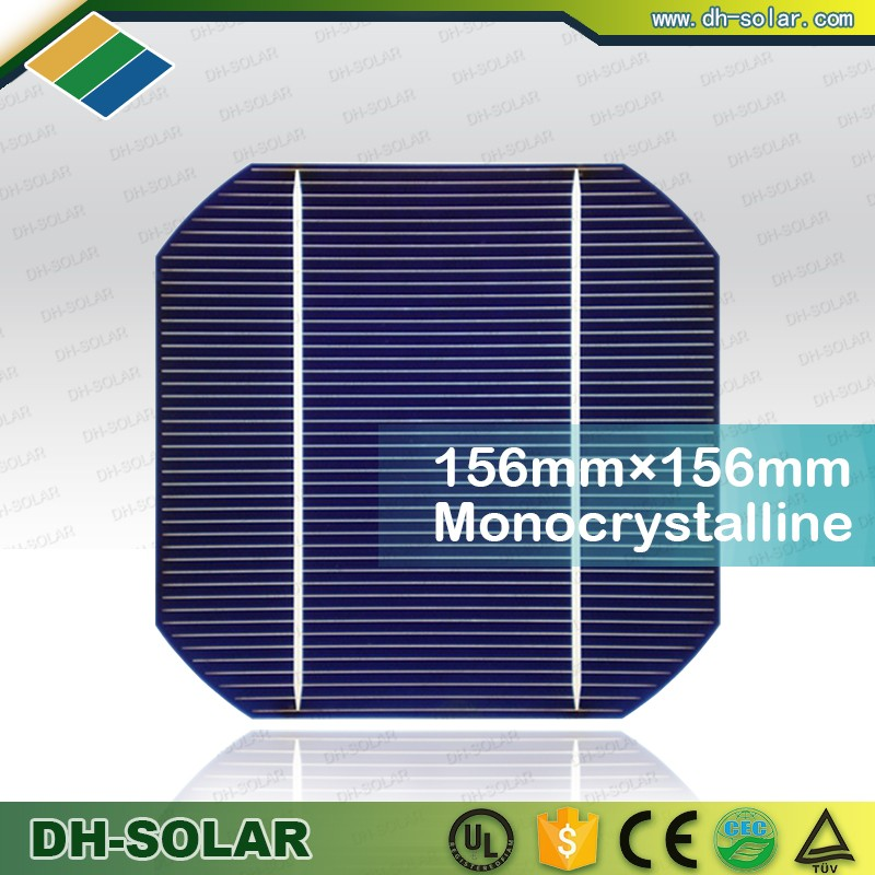 China Suppliers Cheap price high efficiency 2BB 3BB 4BB photovoltaic mono solar cell for solar panels