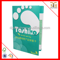 Newest hot sell chinese paper instruction book printing