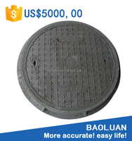 Baoluan brand anti theft manhole cover 600mm en124 c250