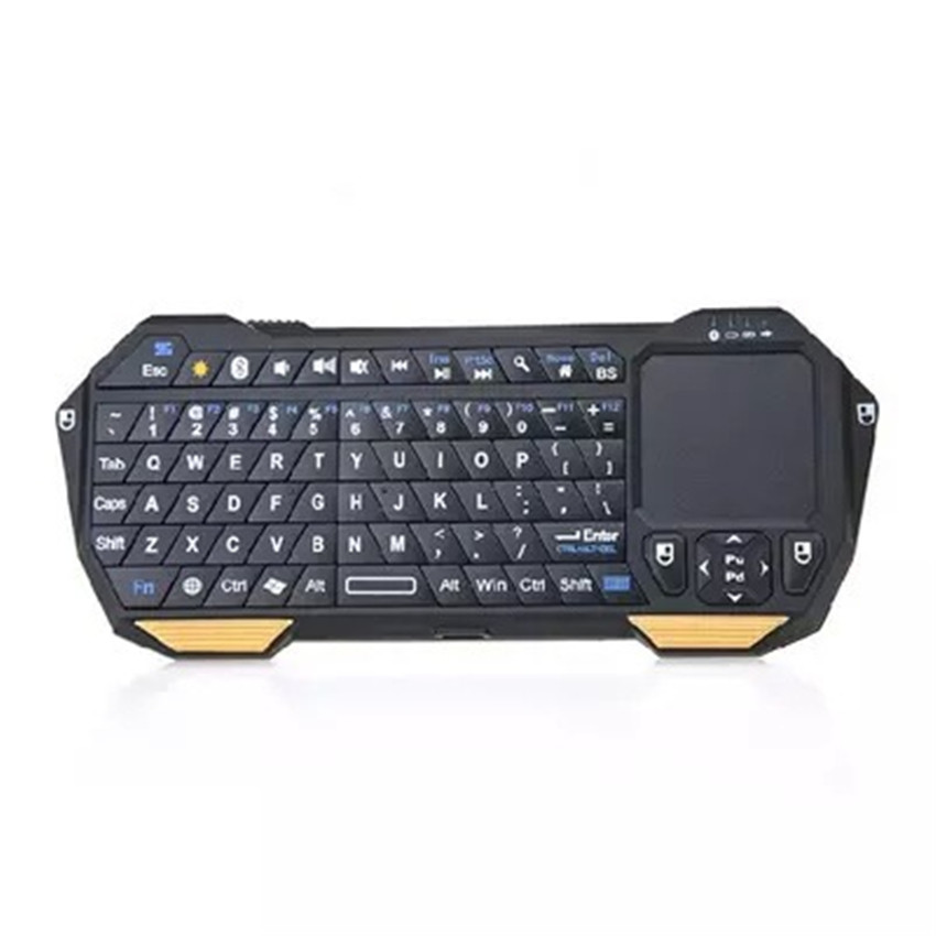 WOFALA Mini Bluetooth Keyboard W Touchpad for iOS Android Windows Smartphones Tablets PS3 PS4 Laptop Notebook CA5245