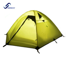 JWJ-004A Promotion ultralight high mountain tent with poles aluminum
