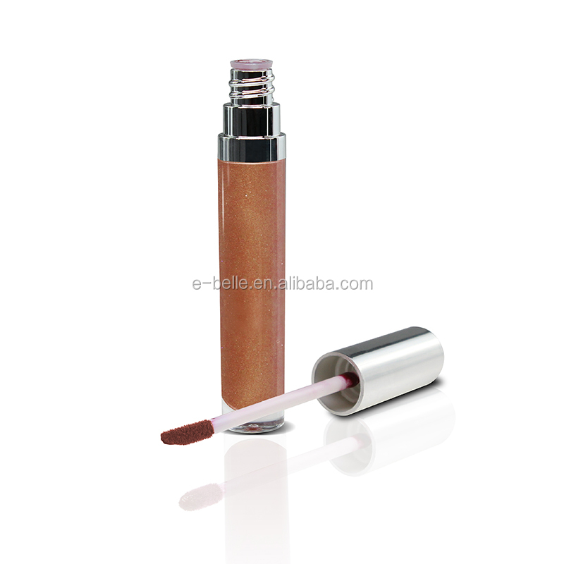 New arrived makeup vegan shiny lip gloss private label