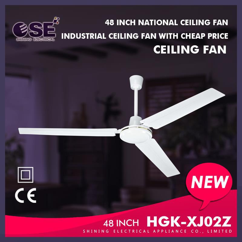 antique ceiling fan 48 inch industrial ceiling fans branded fan small motor HGK-XJ02Z