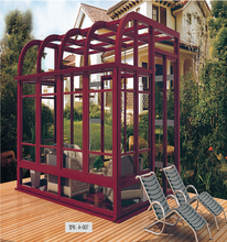 aluminum curved glass sunrooms sunroom roof panels prices