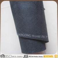 wholesale black polyester felt fabric for crafts felt