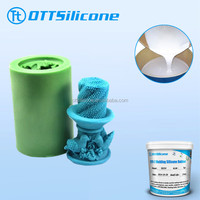 Special molding silicone rubber for candle crafts making