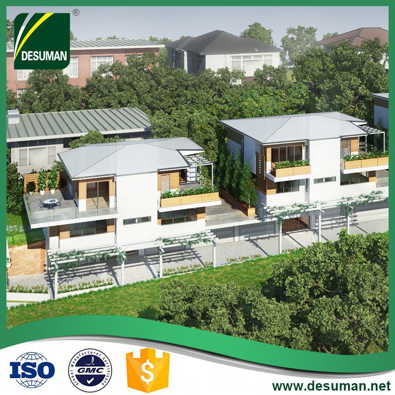 DESUMAN new issue SGS time and labor saving factory price modular homes luxury villa