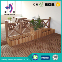 Weather resistant wpc DIY decking board manufacturers