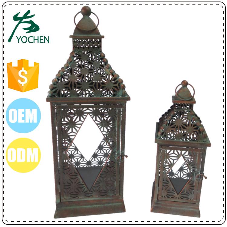 Gros chinois pas cher bois bougie lanterne marocaine mini - Lanterne bougie exterieur pas cher ...