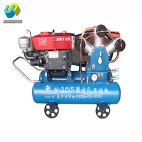 portable tire can equip dc motor air compressor for mine