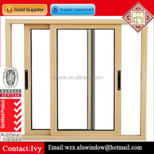 large glass double glazed guangzhou Aluminum Windows