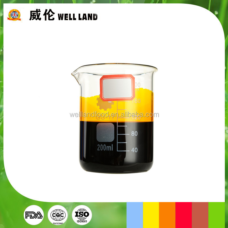 ISO factory supply Marigold Extract liquid lutein edible compounded natural dye