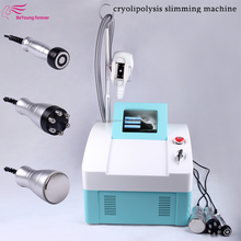 fat freezing machine double cooling handle work at same time for slimming CE salon beauty machine