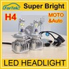 hid distributors new product led h4 headlights h4 led headlight super bright with CREE LED chips xml2