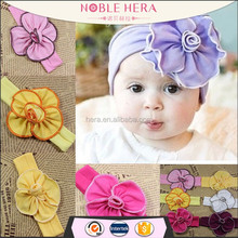 Safe lovely baby elastic latest hairband designs