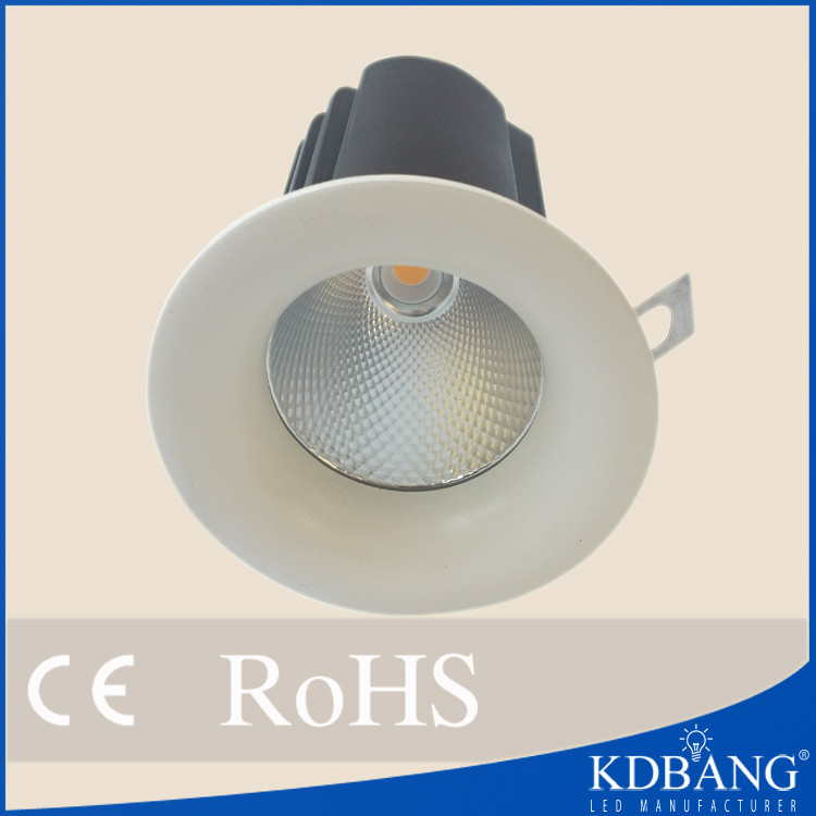 New product aluminum 12w cob led spotlight fitting