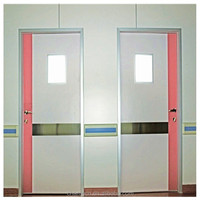 High quality hospital interior wood doors from china mainland