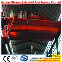 hook with price tag 20 ton harsh working duty heavy loading crane for steel workshop charging steel melting magnet cranes